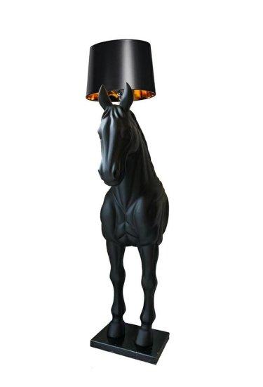 shumee Stoječa svetilka HORSE STAND S črna - steklena vlakna