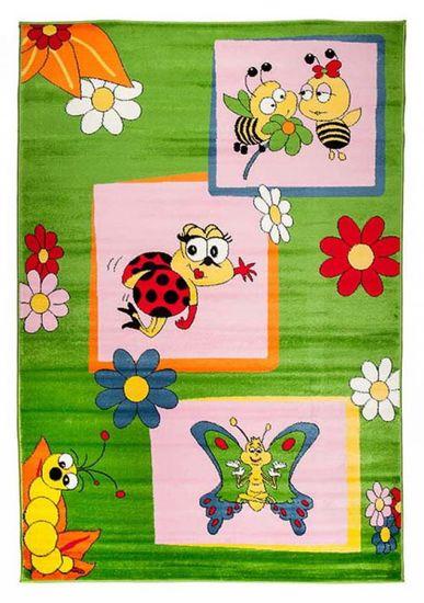 shumee Dywan dziecięcy A661B GREEN KINDER CFV 1.20*1.70
