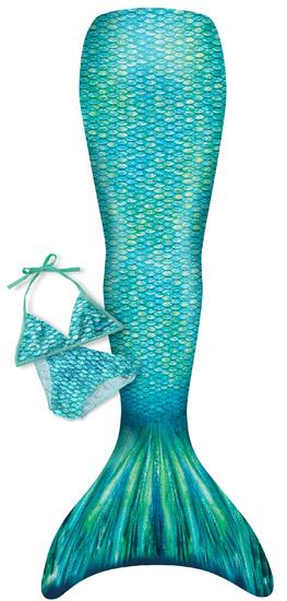 Happy Tails Kostým mořská panna ARIEL + plavky