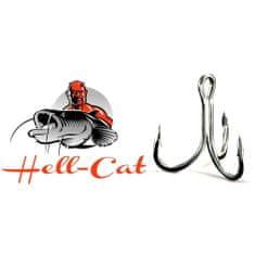 Hell-Cat Trojháčky 6X-Strong 5ks Velikost: 2/0