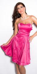 Ženska obleka 76117, roza, 34
