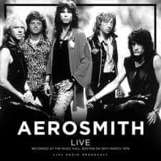 Aerosmith: Best of Live at The Music Hall, Boston 1978 (Live Radio Broadcast) - LP