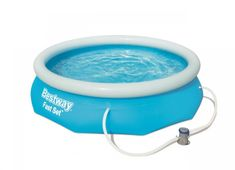 Bestway 57270 Nadzemní bazén kruhový Fast Set, kartušová filtrace, průměr 3,05m, výška 76cm