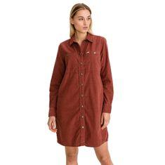 Lee Šaty Workshirt Dress Red Ochre M