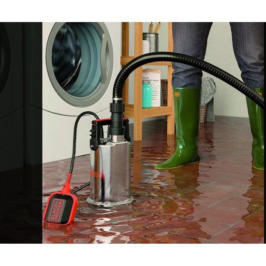Black+Decker BXUP750XCE podvodna crpka za odvodnju prljave vode