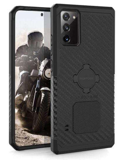 Rokform Kryt na mobil Rugged pre Samsung Galaxy Note 20, čierny 307501P