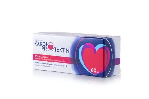 Kardioprotektin - doplnok stravy obsahujúci kyselinu listovú, vitamín B a vitamín B12