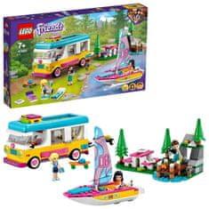 LEGO Friends 41681 Kemping v lese