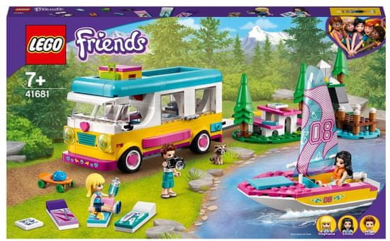 LEGO Friends 41681 Kampiranje v gozdu