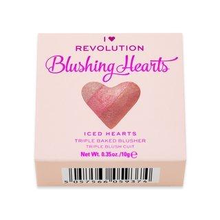 I Heart Revolution Blushing Hearts Iced Hearts Blusher pudrová tvářenka 10 g