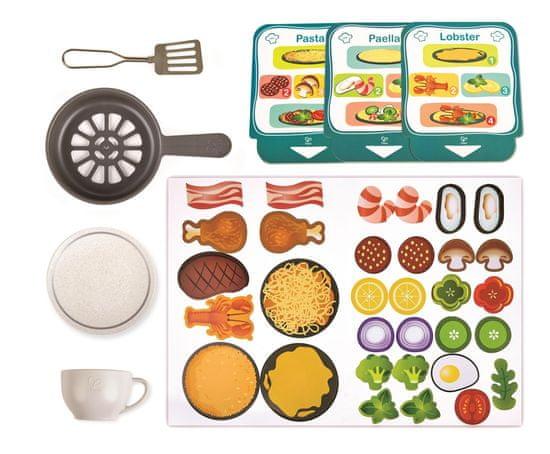 Hape Deluxe kuhinjski komplet z dodatki