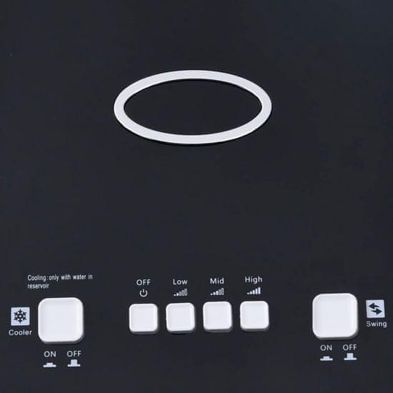 shumee 2-v-1 prenosna klimatska naprava z vlažilcem 80W