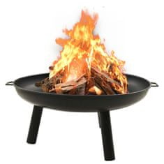 shumee Fire Pit 91x81,5x40 cm Jeklo