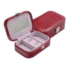 Jan KOS Rdeča škatla za nakit SP-954 / A5