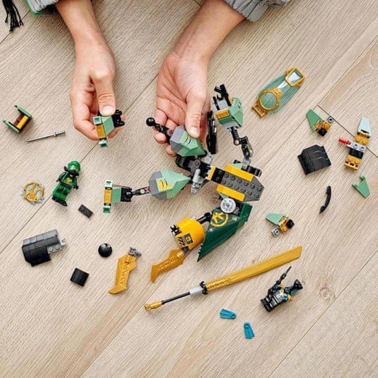 LEGO Ninjago 71750 Lloydov vodni robot