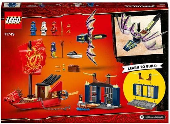 LEGO Ninjago 71749 Zadnji polet nagrade usode