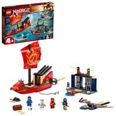 LEGO zestaw Ninjago 71749 Ostatni lot Perły Przeznaczenia