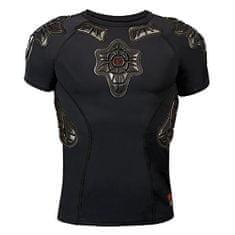 G-Form Młodzieżowa koszulka Pro-X SS, Pad - Czarny | Tkanina - Czarny | L