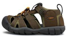 KEEN 1025131/1025145 Seacamp II CNX otroški sandali, kaki, 24