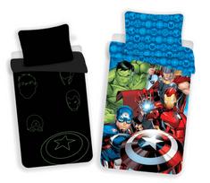 Jerry Fabrics Avengers 02 világító ágyneműhuzat