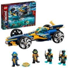 LEGO zestaw Ninjago 71752 Podwodny śmigacz ninja