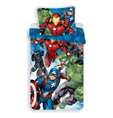 Jerry Fabrics Povlečení Avengers Brands 02