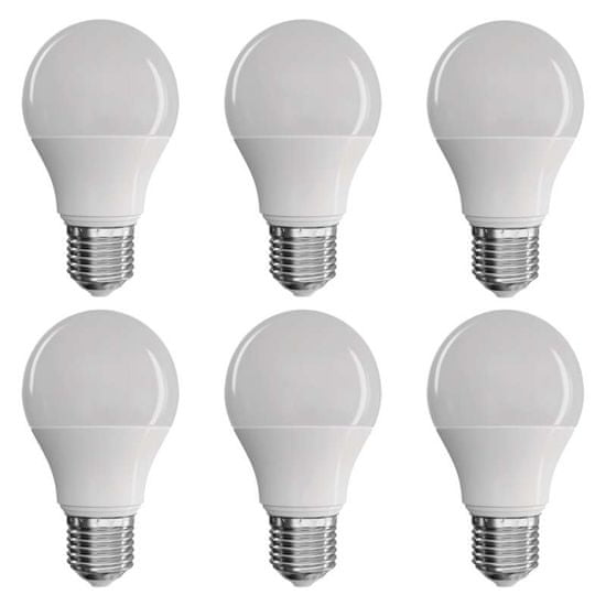 EMOS LED žarulja Classic A60 9W E27 WW, 6/1