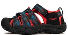KEEN 1025061/1025074 Newport H2 otroški sandali, črni, 25,5