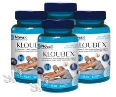 Novax 4x Kloubex 120 - pre dobrú kondíciu kĺbov, kostí, chrupaviek