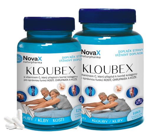 Novax Kloubex 120 + 180 - pre dobrú kondíciu kĺbov, kostí, chrupaviek 120+180 kapsúl