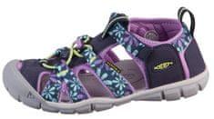 KEEN dívčí sandály Seacamp II CNX 1025136/1025149 24 vícebarevná