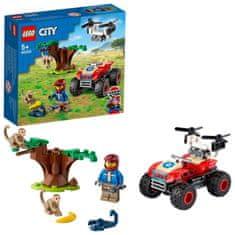 LEGO City 60300 Reševalno štirikolesno kolo v divjini
