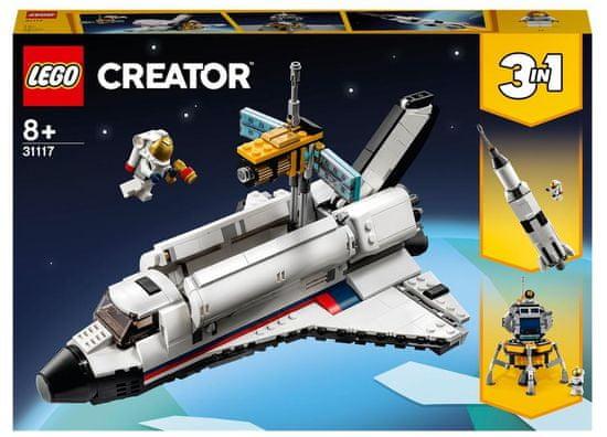 LEGO Creator 31117 Svemirska avantura svemirskim raketnim avionom
