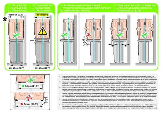 Meliconi univerzální mezikus 656114 Torre Pro L60 + 10 let záruka
