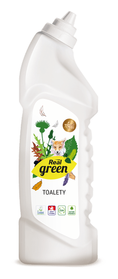 Real Green Clean Toalety 4x750 g