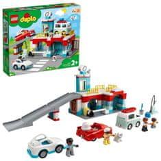 LEGO DUPLO Town 10948 Garaža in avtopralnica - Poškodovana embalaža