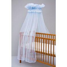 Scarlett moskytiéra na postýlku, univerzální - modrá