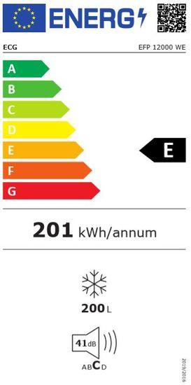 ECG Pultos fagyasztó EFP 12000 WE