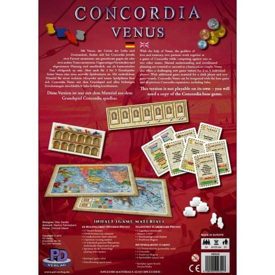 PDV družabna igra Concordia, razširitev Venus angleška izdaja