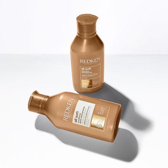Redken All Soft (Shampoo) mehčanje šampona za suhe in hrustljave lase