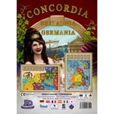 PDV družabna igra Concordia, razširitev Britannia-Germania angleška izdaja