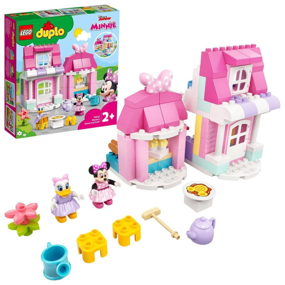 LEGO DUPLO Disney 10942 Domek a kavárna Minnie