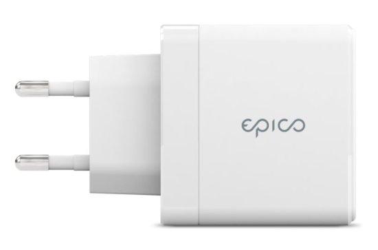EPICO GAN 65W Charger - Biela 9915101100115