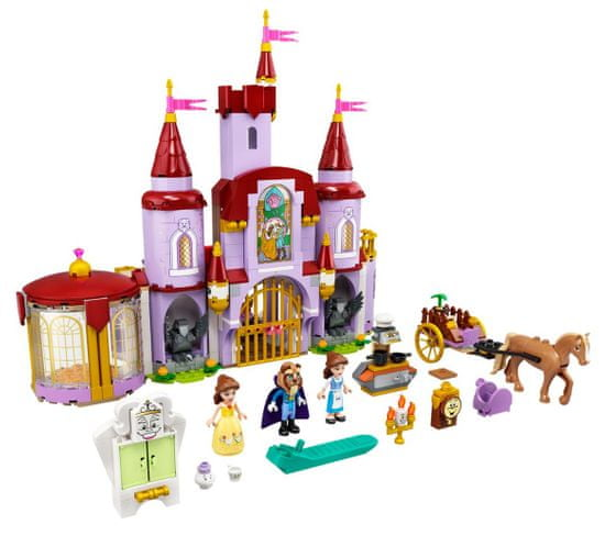LEGO Disney Princess 43196 Dvorac Belle i zvijeri