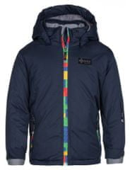 Kilpi Detská zimná lyžiarska bunda Kilpi LIGASA-JG tmavo modrá 86