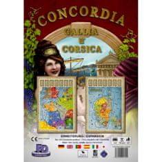 PDV družabna igra Concordia, razširitev Gallia-Corsica angleška izdaja