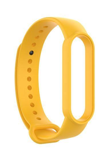 EPICO Silicone Band Xiaomi Mi Smart Band 6 - žlutá 57218102400001