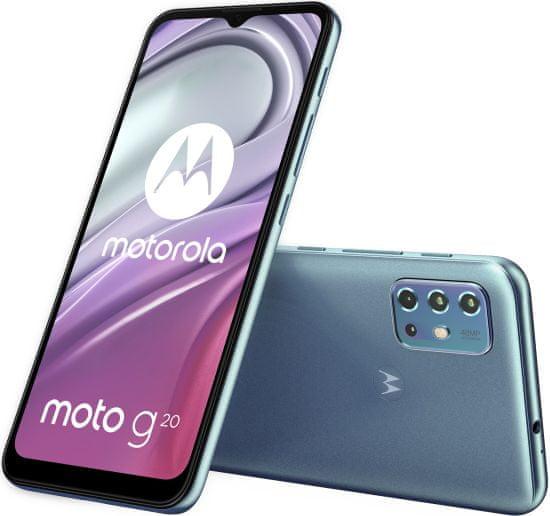 Motorola Moto G20, 4GB/64GB, Breeze Blue