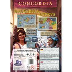 PDV družabna igra Concordia, razširitev Balearica-Cyprus angleška izdaja