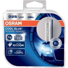 Osram D2S Cool Blue® Intense (2 ks) - 35W, 3200lm,P32d-2 - (66240CBI-HCB)